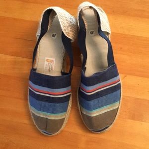 Shoes - Cute Striped Espadrilles